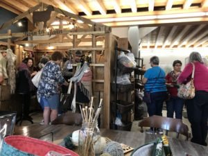 Shopping at the Independence Farmstead Fiber Mill